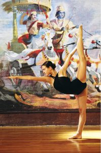 Standing Bow - Develops Concentration and Patience