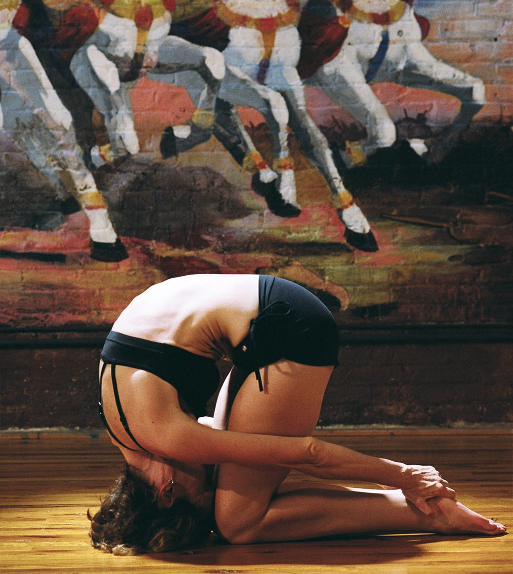 Rabbit Pose – Gives Maximum Longitudinal Spinal Extension