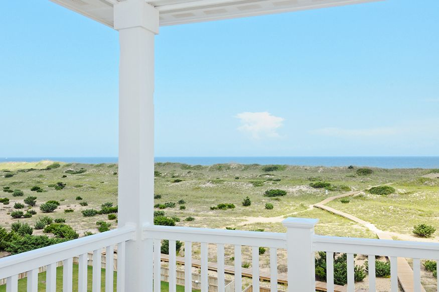 Your view from your deck.