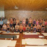 The yoga squad in Argentina, 2017