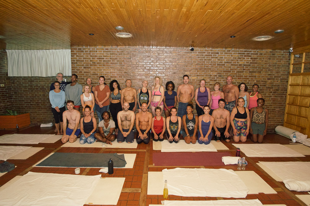 The yoga squad in Argentina, 2017