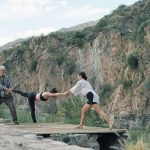 Posture clinics in the Andes mountains, Argentina
